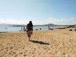 LA CALERA BEACH - LOBOS ISLAND - SPAIN